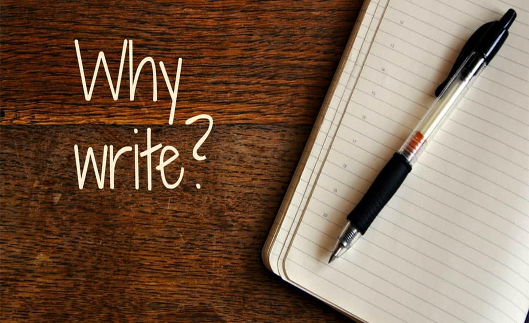 英文寫作-Why write 如何寫| 葉安娜線上學習成人美語一對一家教 Ana Yeh English
