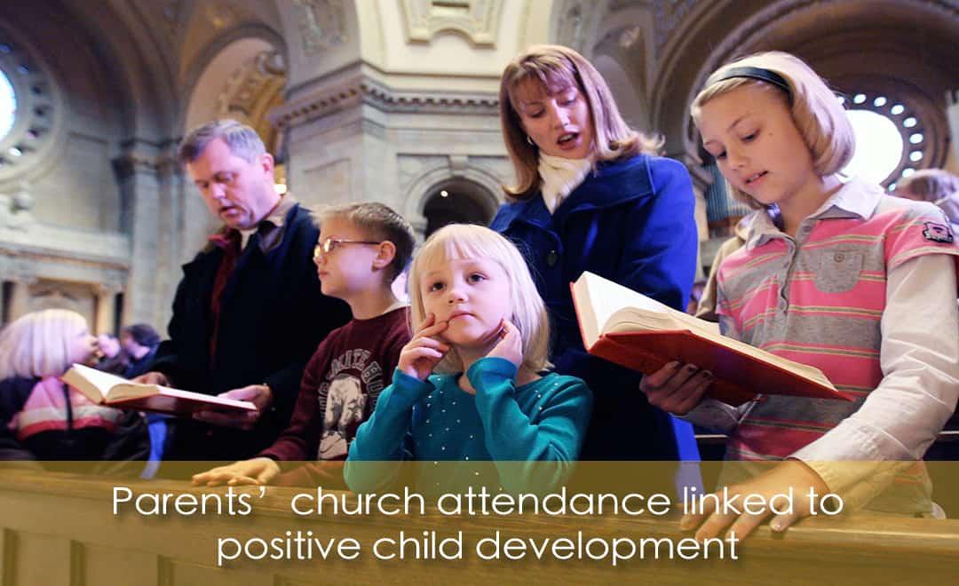 線上學習英文-父母固定上教堂 有助兒童正面發展 | 葉安娜成人美語家教班 Ana yeh english
